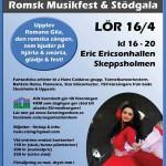 Romane Gila – Romsk musikfest och stödgala