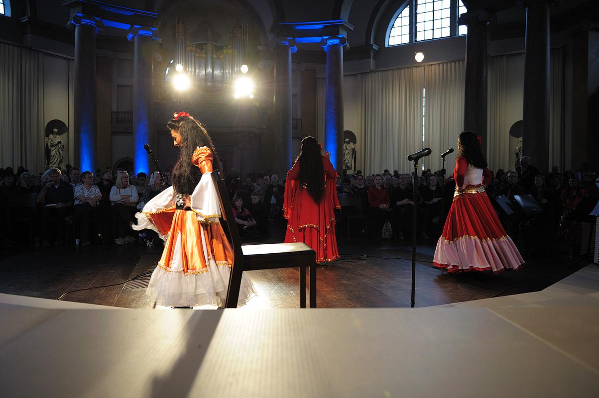 Bahtale Roma i fd Skeppholmskyrkan