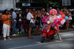 Babsan på Stockholm Pride 2013