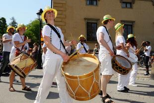 Maracatu Aurora Boreal på Kulturernas Karneval 2014