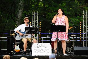 Barnsånger med Camilla Widell på Musik vid Långsjön