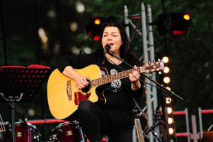 Cariola Rosdotter Eriksson på Musik vid Långsjön