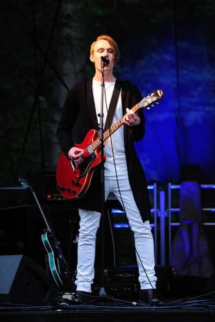 Viktor Odeheim på Musik vid Långsjön
