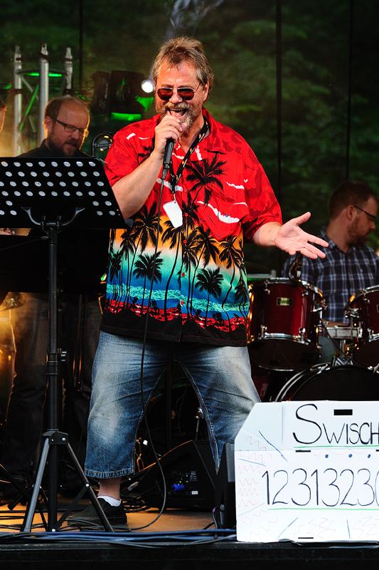 """Ingemar """"Inka"""" Gustavsson sjunger soul på Musik vid Långsjön"""