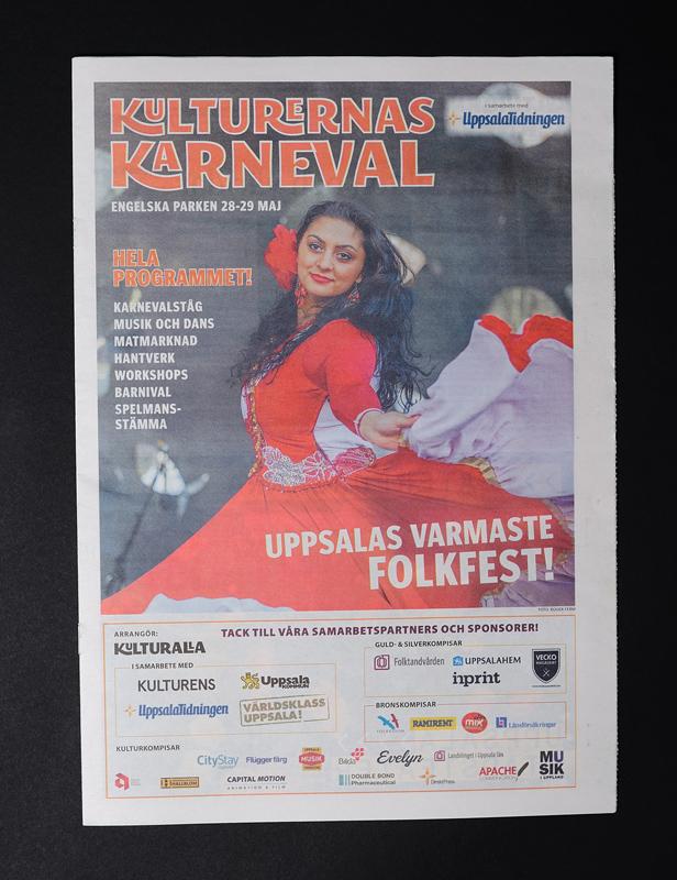 Program för Kulturernas Karneval 2016